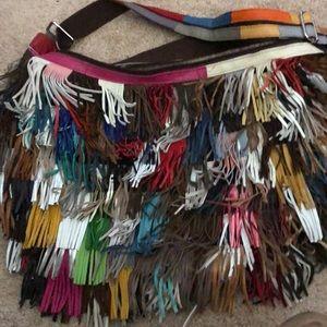 Handbags - Leather Fringe purse